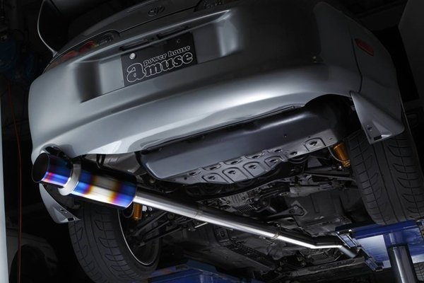 car straight exhaust system