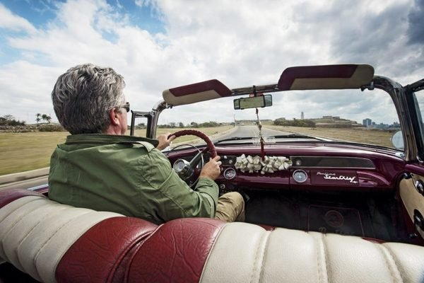 Driving classic cars