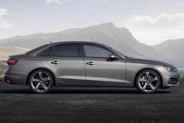 Audi A4 2020 rear view
