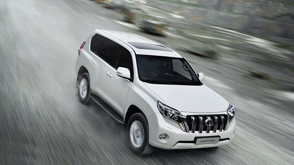 2020 Toyota Land Cruiser Prado design