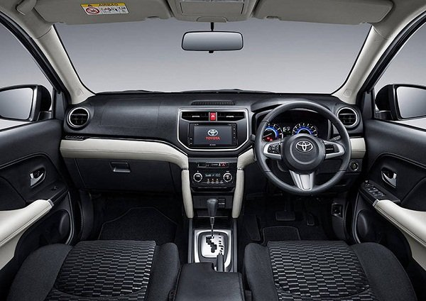 2019 Toyota Rush Interior dashboard