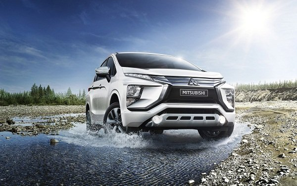 2019 Mitsubishi Xpander on the Road