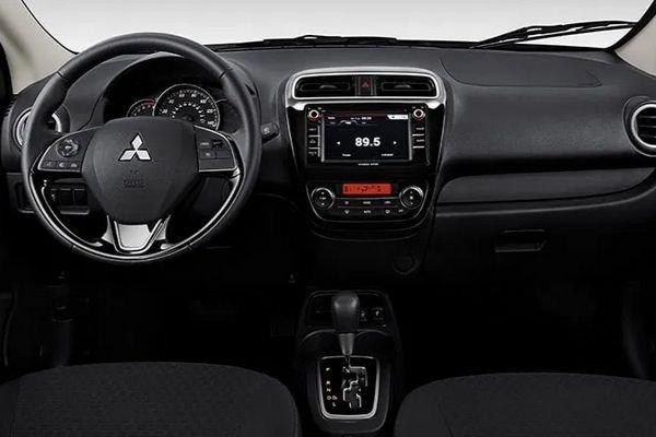 2020 Mitsubishi Mirage front cabin