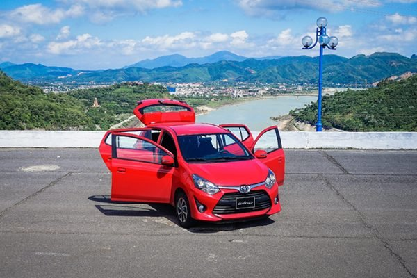 2020 Toyota Wigo doors wide open