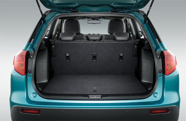 2020 Suzuki Vitara rear cargo space