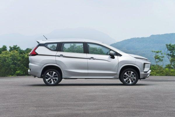 Mitsubishi Xpander Profile shot on the road