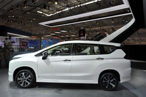 A picture of the side of a 2019 Mitsubishi Xpander