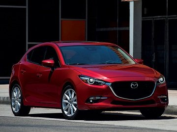 Mazda 3 is a very sporty hatchback