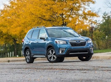 Forester is a world-famous crossover SUV