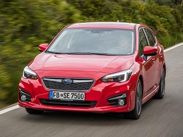 2019 Impreza's design is attractive