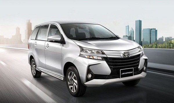 2020 Toyota Avanza on the Road