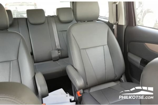 Foton Gratour IM6 2020 leather seats