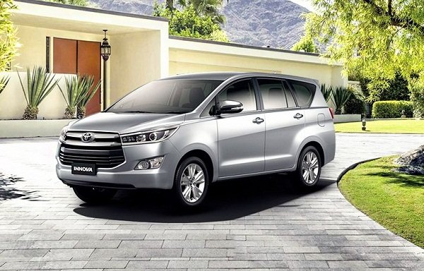 A picture of a 2019 Toyota Innova