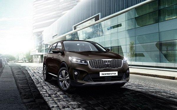 2019 Kia Sorento the look