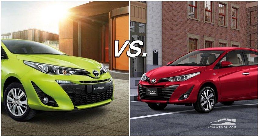 Toyota Vios vs Toyota Yaris