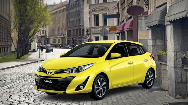 Toyota Yaris 2019 design