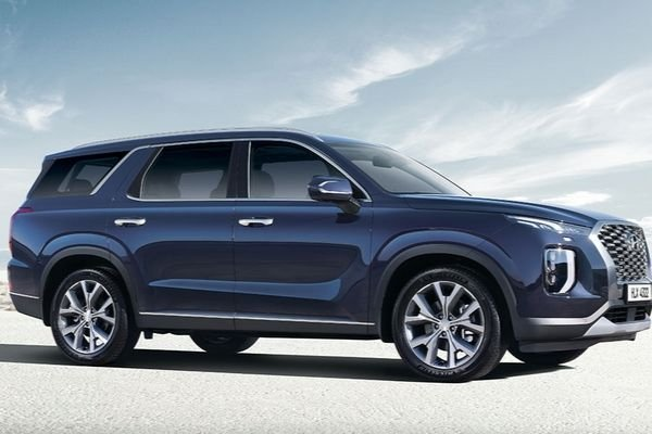A picture of the sides of the 2020 Hyundai Palisade