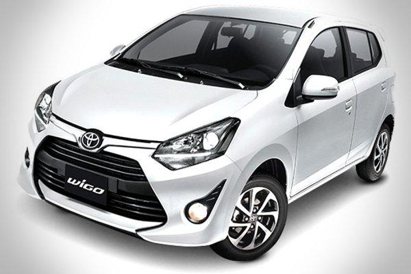 Colors of Toyota Wigo: white