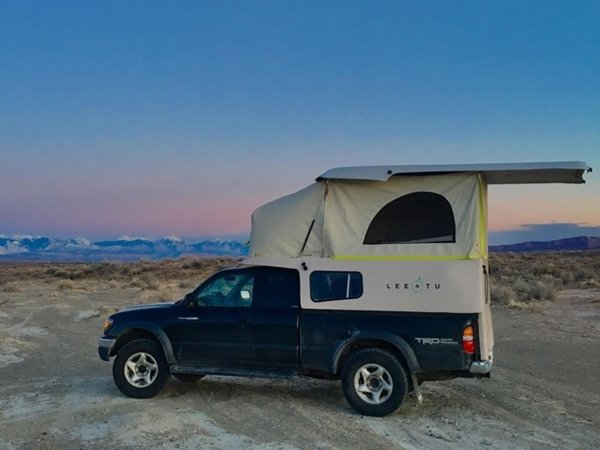 new truck camper shell