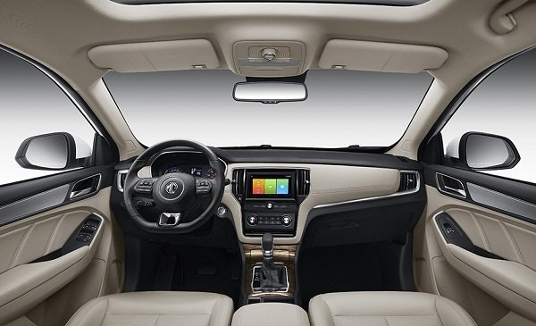 2020 MG RX5 Interior Front Dashboard