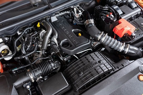 2019 Ford Ranger engine