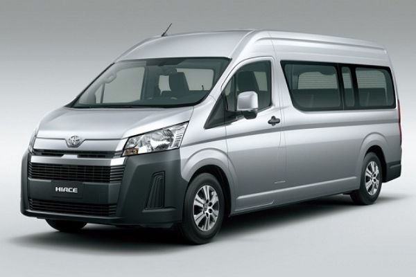 A picture of the new 2020 Toyota Hiace Commuter.