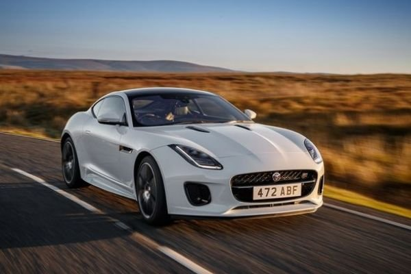 Jaguar F Type on the Road