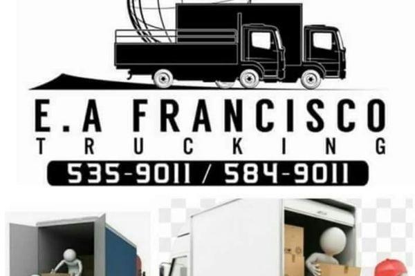 Logo of the EA Francisco trucking