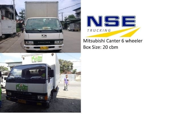 A picture of NSE Trucking Services trucks