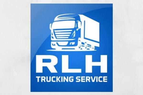 The RLH Trucking Services logo