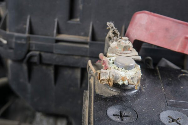 corroded battery terminals