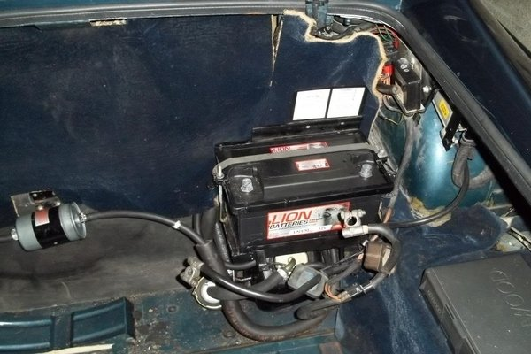 second car battery