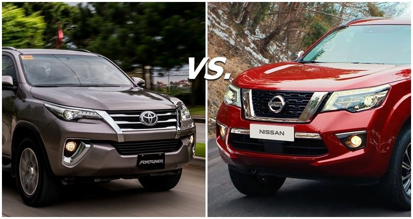 Nissan Terra vs Fortuner