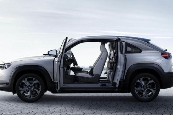 Mazda MX-30's suicide doors