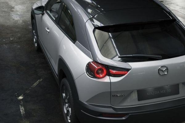 Mazda MX-30's rear end