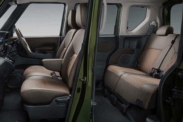 K-Wagon concept's interior
