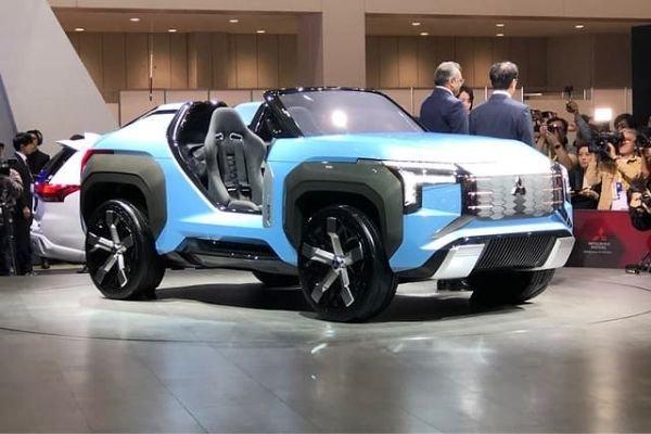 Mitsubishi Mi-Tech Crossover concept at the 2019 Tokyo Motor Show