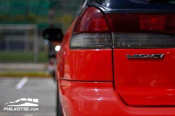 Subaru Legacy BG5 Taillamps