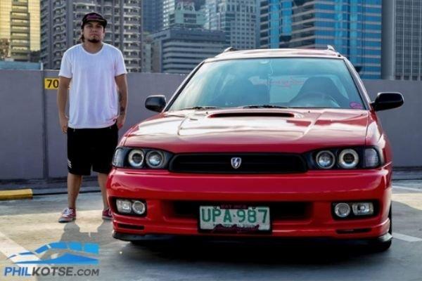 Subaru Legacy BG5 with owner