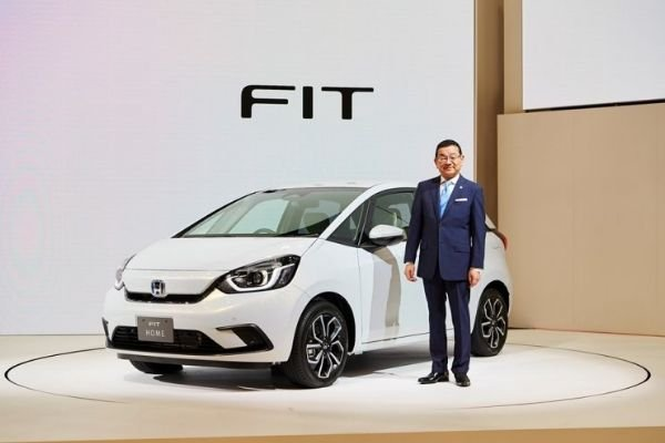 2020 Honda Jazz/Fit with the Honda CEO
