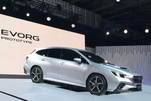 Subaru Levorg Prototype 2020 at the 2019 Tokyo Motor Show