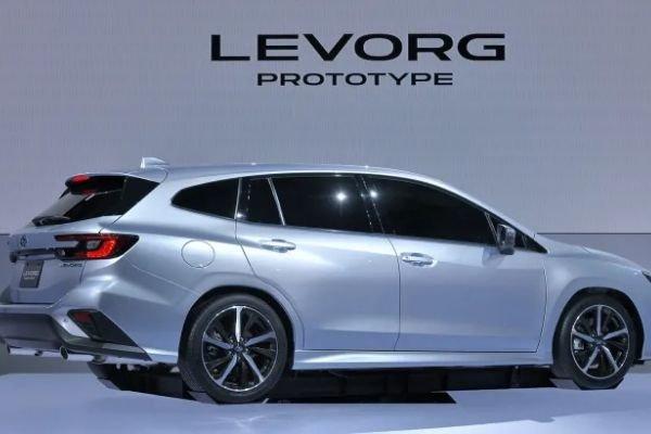 Subaru Levorg Prototype 2020 rear view