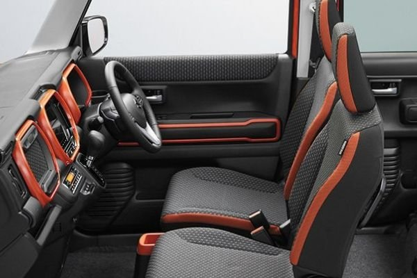 Suzuki Carry front seats