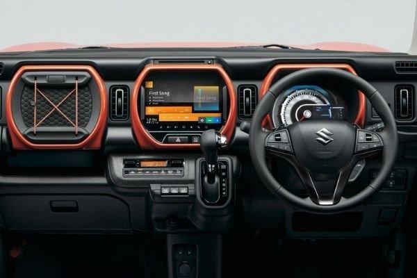 Suzuki Hustler dashboard