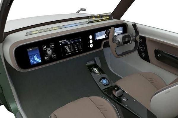 Suzuki Waku Spo's interior