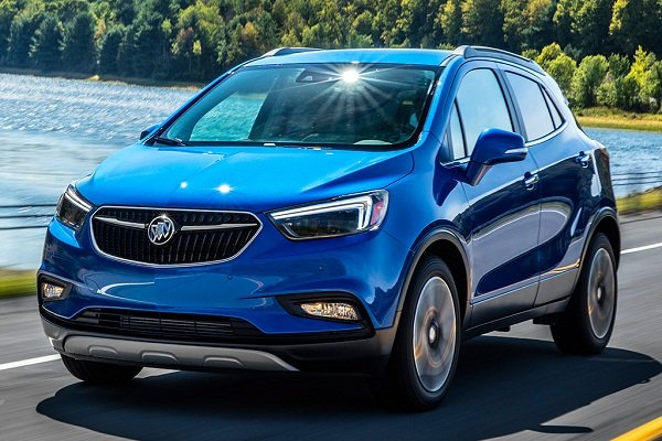 A picture of the Buick Encore