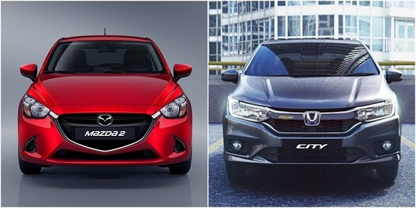 Honda City vs Mazda 2