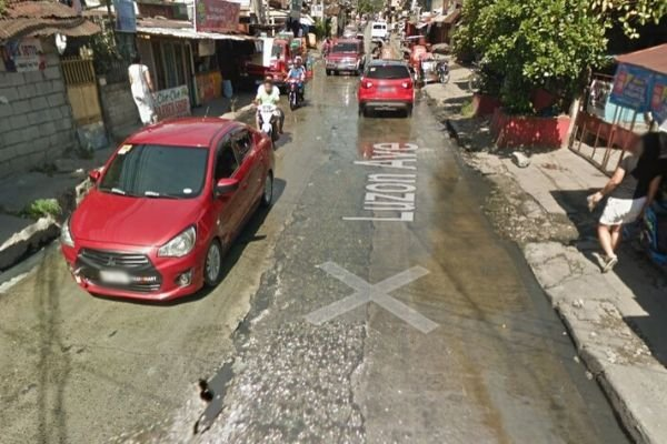 A picture of Luzon Avenue from Google Maps