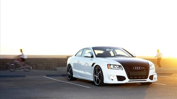 Luxury car Audi