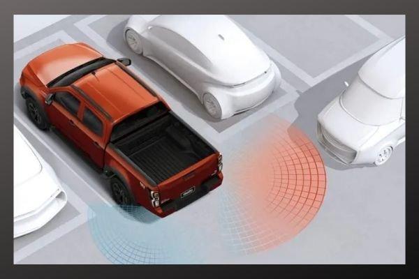 Parking sensor Isusu D-Max